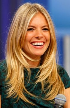 Long layers-Sienna Miller