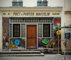 Rue de Vaucouleurs, Paris 11e. Novembre 2015.