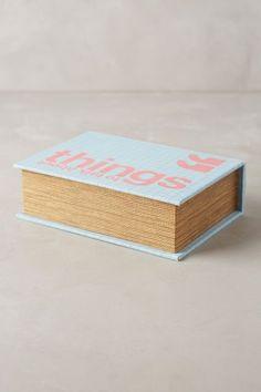 Hideaway Book Box - anthropologie.com