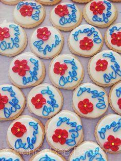 #poppies #icedsugarcookies #oxfordms #oxms #olemiss #hottytoddy