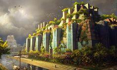 jardins suspensos da babilonia