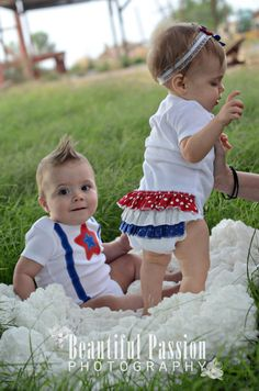 4th of july outfit.  @Sarah Shotts-Ricketts I can make Avery one of these :)