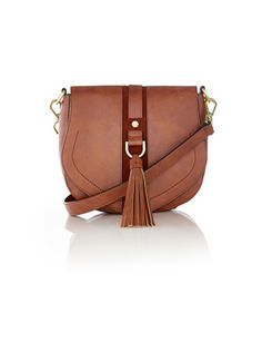 Crossbody Saddle Bag from THELIMITED.com #TheLimited #CrossbodyBag #Bag #Casual #Summer2014 #LTDStyle