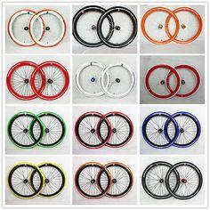 NO LOGO bicycle bike Single Speed wheels wheelsets Fixie 700c flip-flop hub