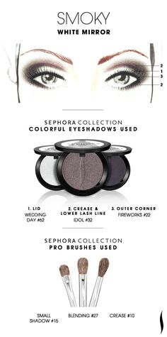 Here are 9 typical eye makeup templates that you can mix up your makeup styles from Sephora collection. Eye Makeup, Sephora Makeup, Makeup Tips, Hair Makeup, Sephora Eyeshadow, Shimmer Eyeshadow, Pony Makeup, Smoky Eyeshadow, Matte Makeup