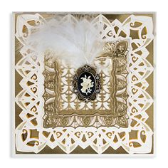 Spellbinders founder and President, Stacey Caron too inspiration from the art deco era with bold geometric shapes and lavish ornamentation to make stunning dies for this on-trend style. Her dazzling Renaissance line will be instant classics for all Spellb New Shadow, Shadow Box, Spellbinders Cards, Art Deco Home, Die Cut Cards, Interior Stylist, Art Deco Fashion, Accent Decor, Art Nouveau