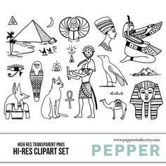 Ancient Egypt Doodle Clipart – History, Pyramids, School Drawings, Hand Drawn Illustrations, Blackli More from my siteDOODLE Perpetual Weekly Planner: Party Theme / Organizer Egyptian Symbols, Ancient Symbols, Egyptian Art, Ancient Egypt, Mayan Symbols, Viking Symbols, Viking Runes, Lettrage Chicano, Chicano Tattoos