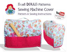Sewing Machine Cover PDF Pattern & Video Tutorial | Craftsy