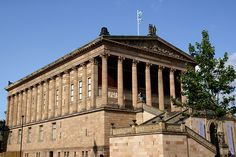 Berlin, Museumsinsel, Alte Nationalgalerie (Old National Gallery)