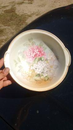 Thomas , Bavaria Hortensia design large bowl by timemachineplus on Etsy