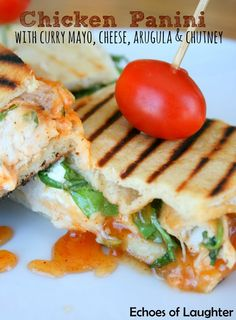 ... on Pinterest | Picnic sandwiches, Grilled cheeses and Chicken panini
