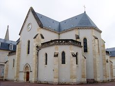 The convent, where St. Bernadette stayed. Lourdes, France