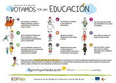¡Participa en la Semana de Acción Mundial por la Educación! http://cme-espana.org/