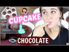 Como fazer Cupcake de Chocolate?! s/ Glúten & Lactose - Marina Inspira - YouTube