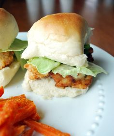 Copycat Chik-fil-a nuggets, on a roll - slider - awesome