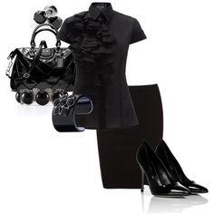 Love a lil Black!