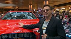 RDJ with his Stark 65 Audi