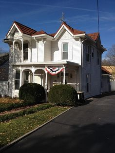 House was built in 1870 and is one of the 1st homes built in historic Kirkwood, MO. There is no basement nor any usable living space under the house as it is now. EHM has been awarded the project and will elevate the home and create full 9' basement