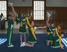 pee wee cheer stunts - Google Search