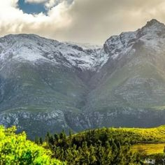 Snow on our beloved Langeberg Mountain #WinterRetreats  www.somersetgift.co.za South Africa, Snow, Yoga, Mountains, Kitchen, Travel, Beautiful, Cucina, Cooking