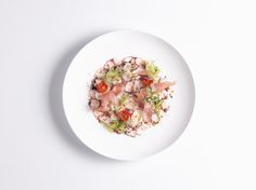 fine dining Octopus Carpaccio