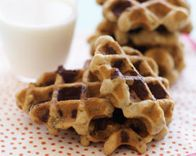 make cookies in 90seconds in your waffle maker!