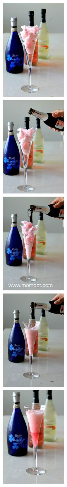 Add a little Cotton Candy to your Champagne