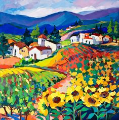 Isabel le Roux - South African Artist: Tuscany Gallery