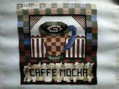 """Schmibble & Co.  """"mocha"""" cross stitch"""