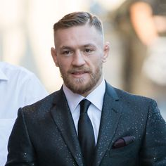Conor McGregor Haircut - Hard Part Comb Over + Thick Line
