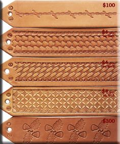 floral leaf design for leather -SR Leather Stamps, Leather Art, Custom Leather, Leather Design, Leather Tooling, Leather Jewelry, Saddle Leather, Leather Craft Tools, Leather Projects