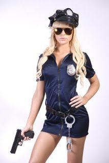 #Disfraz de #policia sexy | Guapa Al Instante Blog de belleza