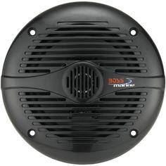 BOSS AUDIO MR50B 2-Way All-Terrain-Marine Loudspeakers (5.25, 150 Watts)