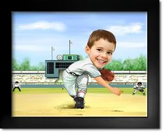 Click here to order your custom Best Baseball Player Caricature
