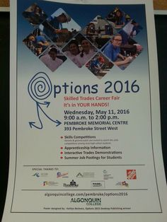 Grade 10s will be going to the options fair this Wednesday.