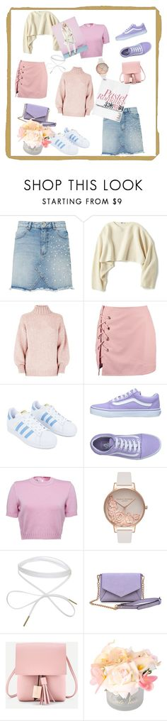 """""""Tabith#2"""" by explorer-15053326627 on Polyvore featuring Miss Selfridge, Uniqlo, Boohoo, adidas, Vans, Olivia Burton, Urban Expressions, Sinclair and Côte Noire"""