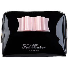 Buy Ted Baker Normar Small Washbag, Black online at JohnLewis.com