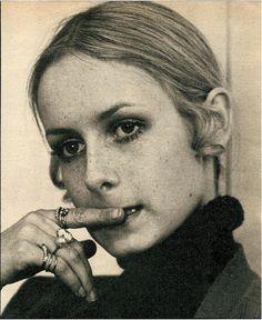 Twiggy 1968 by negative four, via Flickr