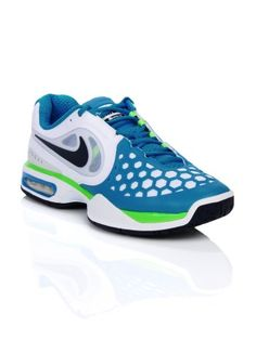 hot sale online adc84 d7a7c Nike Men Air Max Courtballistec Blue  amp  White Sports Shoes   Myntra.com  Sports