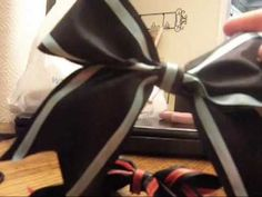 Diy How To Make A Cheerleading Bow