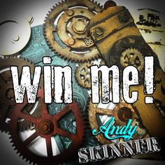 Re-pin me to win me! Follow me on Pinterest and re-pin this image for your chance to win my new Industrial Elements chipboard kit!  (Closes midnight GMT 4th October 2015, open worldwide).