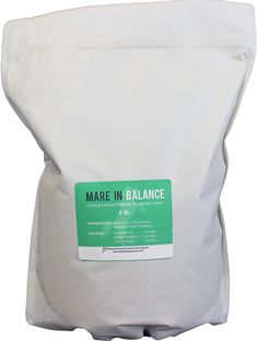 """Mare In Balance: Chinese Herbal Remedy for """"mare-ishness."""" Made with chamomile, chasteberry, raspberry and passion flower. Sold in a 4 lb. Lower Blood Sugar, Passion Flower, Herbal Remedies, Herbalism, Raspberry, Chinese, Healthy, Products, Herbal Medicine"""