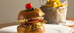 YES - The Kitchen Burger! Bacon, cheddar and jalapeno french fries.