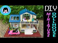 DIY Miniature Music & Lights Doll Full Dollhouse Kit ミニチュアドールハウス 소형 인형의 집 - YouTube