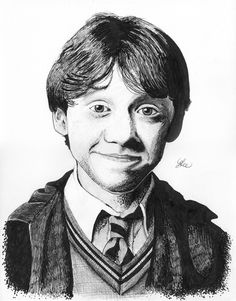 Ron Weasley by LukeFielding.deviantart.com on @DeviantArt