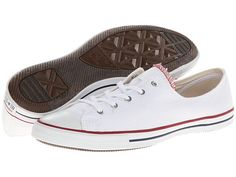 Converse Chuck Taylor® All Star® Fancy Ox White - Zappos.com Free Shipping BOTH Ways