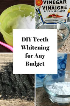 One of the most common complaints people have about their teeth is that they're discolored, for the frugal people like us, our first thought of course is DIY Teeth Whitening! So many things can affect the color of the teeth.
