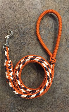 Detroit Tigers inspired Dog Leash by ParacordCharities on Etsy