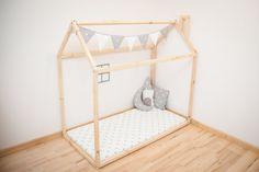 Doble cama de casa / casa de la cama / por SweetHOMEfromwood