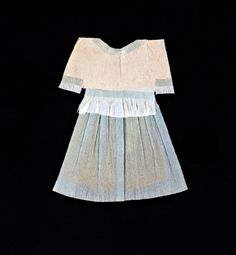 Crepe paper dress from the personal collection of Carin Goldberg